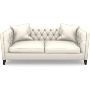 Haresfield 3 Seater Sofa In Clever Cotton Mix- Hessian Sofas