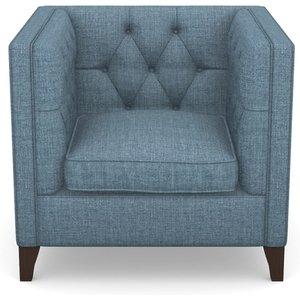 Haresfield Chair In House Plain- Cobalt Sofas