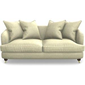 Helmsley 3-seater In Textured Velvet- Almond Sofas