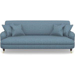 Holmfirth 3 Seater Sofa In House Plain- Cobalt Sofas