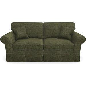 Lanhydrock 3 Seater Sofa In Textured Velvet- Lichen Sofas