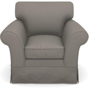 Lanhydrock Chair In Plain Linen Cotton- Purple Haze Sofas