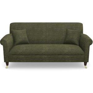 Petworth 3 Seater Sofa In Textured Velvet- Lichen Sofas