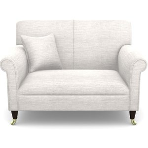 Petworth Snuggler In Textured Velvet- Almond Sofas