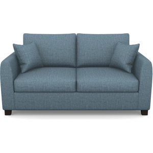 Rhossili Compact 3 Seater Sofabed In House Plain- Cobalt Sofas