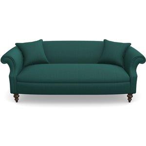 Ronaldsay 3 Seater Sofa In House Velvet- Peacock Sofas