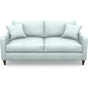 Rye 3 Seater Sofa In Textured Plain- Wave Sofas