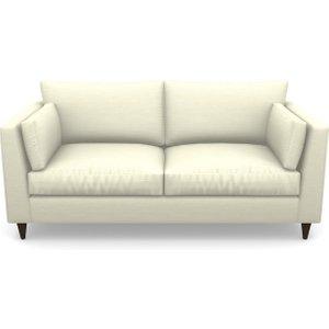 Saltdean 3 Seater Sofa In Basket Weave- Cream Sofas