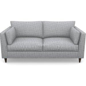 Saltdean 3 Seater Sofa In Textured Plain- Anthracite Sofas