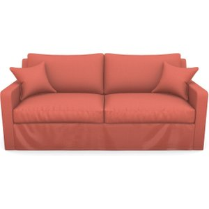 Stopham 3 Seater Sofa In Plain Linen Cotton- Tequila Sunset Sofas