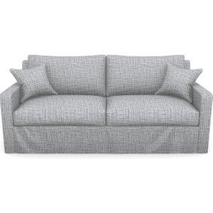 Stopham 3 Seater Sofa In Textured Plain- Anthracite Sofas