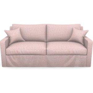 Stopham 3 Seater Sofa In Textured Plain- Rose Sofas