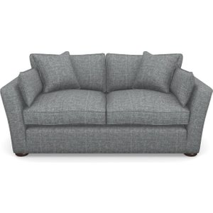 Stopham Sofabed 3 Seater Sofabed In Mottled Linen Cotton- Ash Sofas