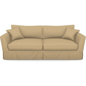 Weybourne 3 Seater Sofa In Clever Cotton Mix- Bamboo Sofas