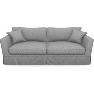 Weybourne 3 Seater Sofa In Clever Cotton Mix- Iron Sofas