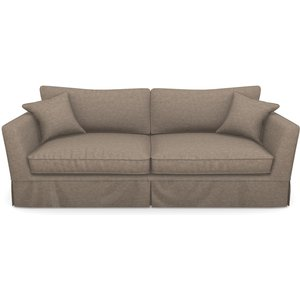 Weybourne 3 Seater Sofa In Easy Clean Plain- Camel Sofas