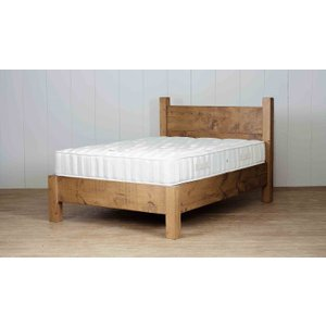 Cole Wood King Bed - Low End