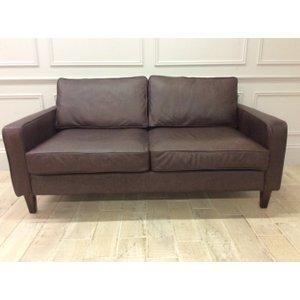 Duke 3 Seater Sofa In Dune Coffee Leather