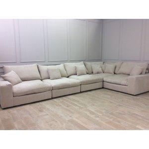 Haymarket Extra Deep Corner Sofa With Free Footstool In Sherlock Pearl