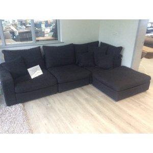 Haymarket Standard Corner Sofa In Coco Noir Fabric