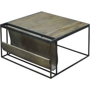 Magazine Large Square Coffee Table
