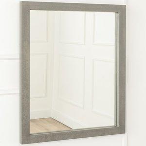 Furntastic Ardleigh Faux Concrete Rectangular Mirror - W 56cm X H 71cm Furnudgd 087