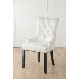 Furntastic Ellie Mink Crushed Velvet Knockerback Dining Chair Cfsud 061, Mink