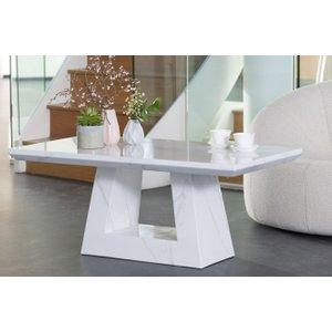 Furntastic London White Marble Coffee Table CFSUD 071