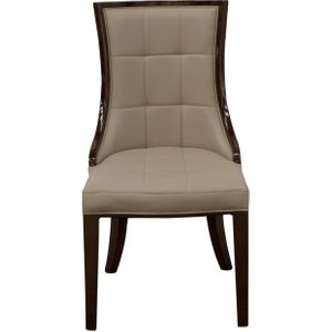 Oak Furniture Superstore Alfredo Dining Chairs - Brown, 2 Chairs Afo 111 La, Brown