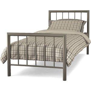 Oak Furniture Superstore Bologna 90cm Single Bed In Champagne Mode300chbed, Cream