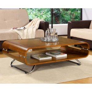 Oak Furniture Superstore Corsair Walnut Coffee Table JF302 COFFEE TABLE WALNUT