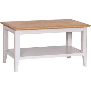 Oak Furniture Superstore Daniella Oak And Grey Small Coffee Table DAN CT