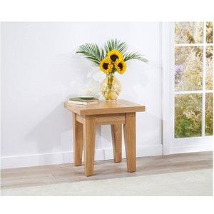 Oak Furniture Superstore Ex-display Cheadle Oak Lamp Table PT91573