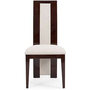 Oak Furniture Superstore Ex-display Set Of 2 Raphael Brown Solid Wood Dining Chairs Pt92900, Ash