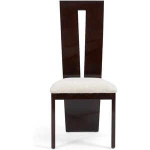 Oak Furniture Superstore Ex-display Set Of Six Verbier Solid Wood Brown Dining Chairs Pt92084