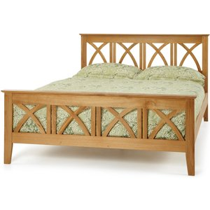 Oak Furniture Superstore Mayden 135cm Double Bed In Oak Maid460oabed, Oak