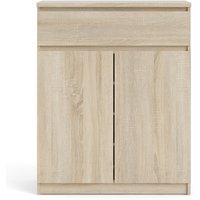 Oak Furniture Superstore Naya 1 Drawer 2 Door Sideboard In Oak 70276234ak