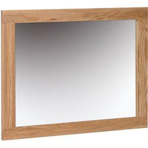 Oak Furniture Superstore Novel Oak Wall Mirror Nm20, Oak