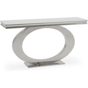 Oak Furniture Superstore Orion Console Table Ori 009 Wh, White