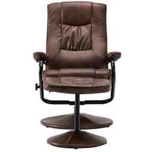 Oak Furniture Superstore Presley Swivel Chair & Footstool In Tan Memsctan, Tan