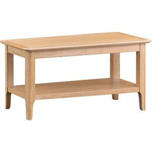 Oak Furniture Superstore Sadie Oak Small Coffee Table SAD CT