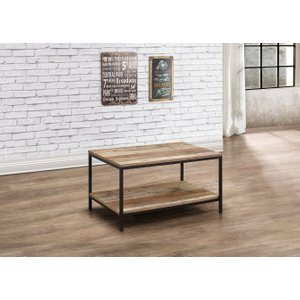 Oak Furniture Superstore Wallis Rustic Coffee Table Urbctrus, Oak
