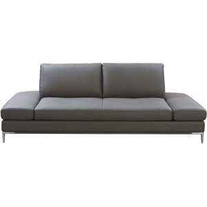 Maisons Du Monde Anthracite Grey 4-seater Coated Fabric Sofa Bed Geller 3611871976164 Sofas, Grey