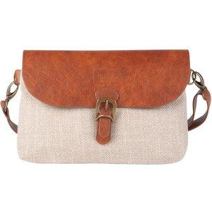 Maisons Du Monde Beige And Camel Shoulder Bag 3611871857029, Brown