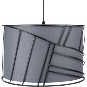 Maisons Du Monde Black And Grey Metal Pendant Light D40cm 3611872076429 , Black