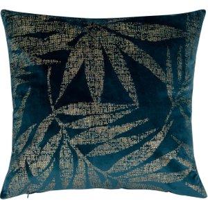 Maisons Du Monde Blue Velvet Cushion Cover 40x40 3611871973552 Home Textiles, Blue
