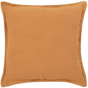 Maisons Du Monde Brown Linen Cushion Cover 40x40cm 3611872145361 Home Textiles, Brown