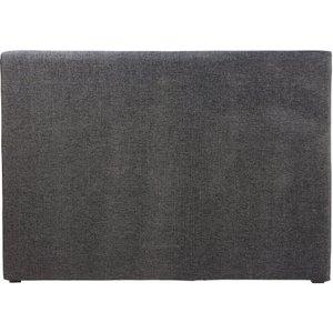 Maisons Du Monde Carbon Grey Headboard Cover 160 3611871779260 Home Textiles, Grey