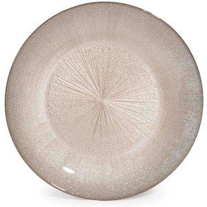 Maisons Du Monde Champagne Glass Dinner Plate D 28 Cm 3611871641314 Tables, Gold