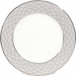 Maisons Du Monde China Dessert Plate With Japanese Motif D 19 Cm 3611871642649 Tables, Silver